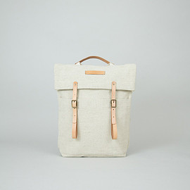 Thisispaper - Newspaper Rucksack Natural