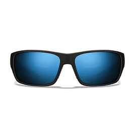 Roka - Matte All Terrain Series - Black Frame - Glacier Mirror (Polarized) Lens