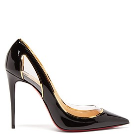 Christian Louboutin - Cosmo 554 100 patent-leather pumps