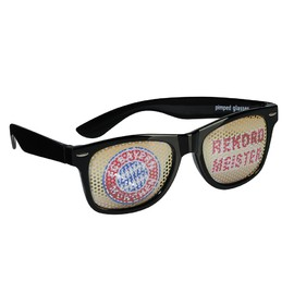 FC Bayern Fan glasses Rekordmeister