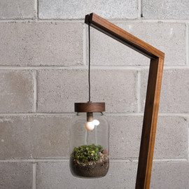 AutumnWorkshop - Terrarium Floor Lamp