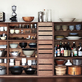 D&DEPARTMENT - LAUAN SHELVES