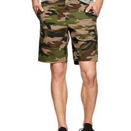 GAP - Lived in camo shorts