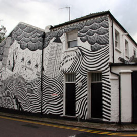 Stanley Donwood - paint house