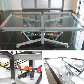 10. Transparent Pool Table - Retail Price: $46,000