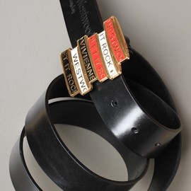Vivienne Westwood - 'Let It Rock' Cinture Belt in Black