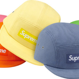 Supreme - Washed Twill Camp Cap