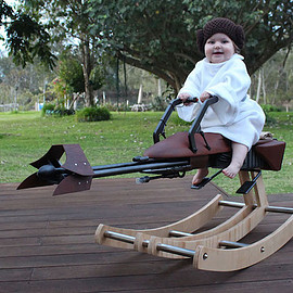 Star Wars Rocking Speeder Bike