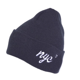 Chari&Co. NYC - CITY LOVE WATCH CAP BLACK