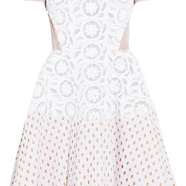 N°21 - Annetta lace, broderie anglaise and embroidered dress