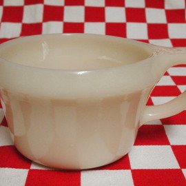 Fire King - Ivory Shaving Cup