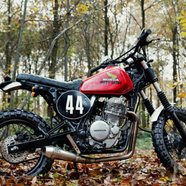 Honda - nx 650  Dirty Sandy by 4h10