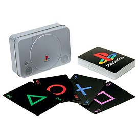 SONY - PlayStation Playing Cards
