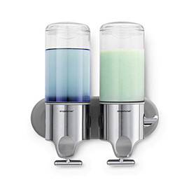 simplehuman - twin wall mount pumps