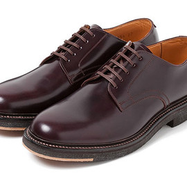 "REGAL - BEDWIN × REGAL OFFICER SHOES ""HENDERSON"" Burgundy"