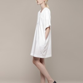 Organic by John Patrick - Split Neck Dress