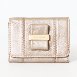 SEE BY CHLOE - Lifou card case pale gold