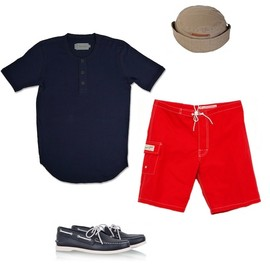 wings + horns - wings horns henley heritage research board shorts folk hat sperry shoes WINGS + HORNS HENLEY + HERITAGE RESEARCH KATIN BOARD SHORTS + FOLK HAT + SPERRY SHOES | KIOSK 78 50% SALE
