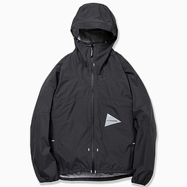 and wander - 3L light rain jacket