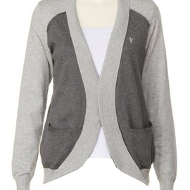 mintdesigns - COLOR BLOCK CARDIGAN