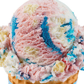 Baskin robbins - America's Birthday Cake®  Ice Cream