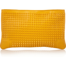 Christian Louboutin - Loubiposh spiked leather clutch