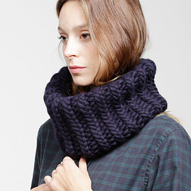 WOOL AND THE GANG - NELSON COLLAR / knit / snood