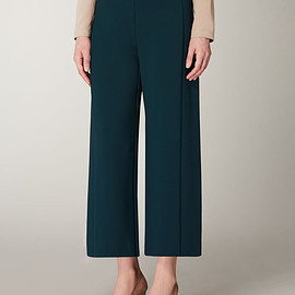 Max Mara - Cropped viscose jersey trousers