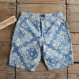 STEVENSON OVERALL CO. - Paisley Floral Shorts