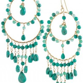 Stella and Dot - Azure Couture Earrings