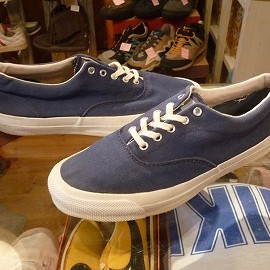 "converse - 「<used>90's converse SKID GRIP navy""made in USA"" size:US10(28.5cm) 10000yen」完売"