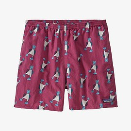 "patagonia - Men's Baggies™ Shorts - 5"" - Blue Prints: Star Pink BPPI"