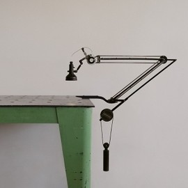 Crane lamp  #industrial, #design, #light, #lamp, #crane, #style, #lifestyle