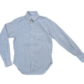 INDIVIDUALIZED SHIRTS Small Gingham Check Navy