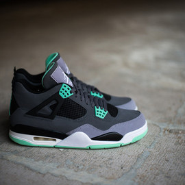 "Nike - Air Jordan 4 Retro ""Green Glow"""
