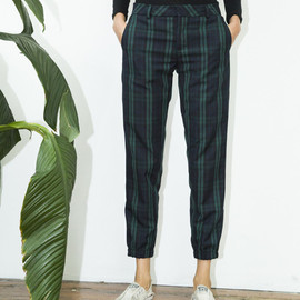 Assembly New York - Crop Plaid Pant