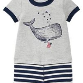 GAP - Whale graphic one-piece