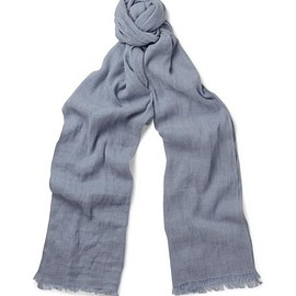 Loro Piana - Dorset Flax and Cashmere-Blend Scarf