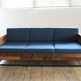 RECLAIMED WORKS - Reclaimed Sunset  Sofa 3seater