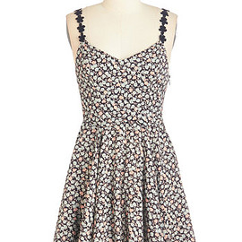ModCloth - Bespeckled with Blossoms Dress