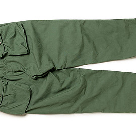 ENGINEERED GARMENTS - Norwegian Pant-Cotton Ripstop-Lt.Olive