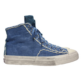 visvim   - Skagway Sashiko High Top Sneakers