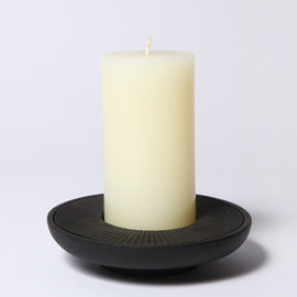 DAVID MELLOR - CANDLE WITH CANDLE HOLDER