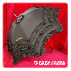 BABY,THE STARS SHINE BRIGHT - Rich frilled umbrella