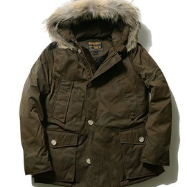 WOOLRICH - CAMOUFLAGE ARCTIC PARKA ML