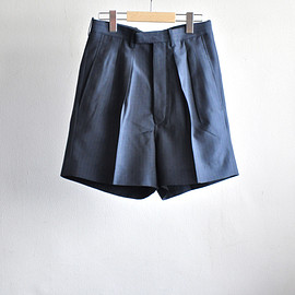 m's braque - WIDE 2-tuck DRESS SHORTS