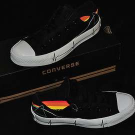 CONVERSE - Pink Floyd Very Rare Dark Side of the Moon Converse