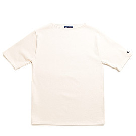 SAINT JAMES - Ouessant Short Sleeve Shirts-Ecru