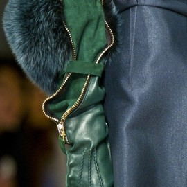Gianfranco Ferré - Fall/Winter 2012 #green
