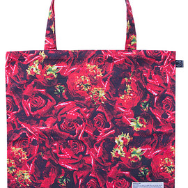 MEDICOM TOY - MLE M / mika ninagawa シリーズ『LEATHER ROSE』 SIMPLE TOTE BAG